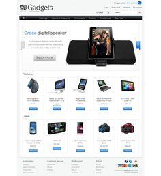 OC01A00558 Premium OpenCart Electronics Store Template