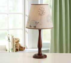 Sweet Lambie Shade & Candlestick Base | Pottery Barn Kids