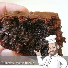 Brownie do Luiz - Mais Você - Culinária-Receitas - Mauro Rebelo