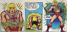 Must break free - Masters Of the Universe mini comic panel