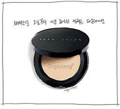 #oligodang #cosmetic #makeup #hair #K-beauty 올리고당 메이크업 바비브라운 오일프리 이븐 휘니쉬 컴팩트 파운데이션