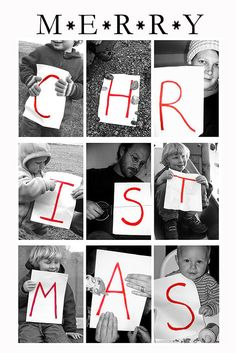 Christmas card idea =)