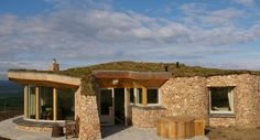 Coillabus Ecoluxury Guest Dwellings on the beautiful island of Islay off the west coast of Scotland