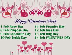 happy valentine week sms