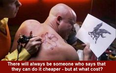there will always be someone who says they can do it cheaper - Buscar con Google