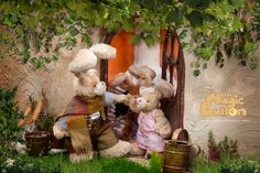 Pipin and Lori in front of rabbit house. Cute Sister, Stop Motion, Rabbits, More Fun, Tv Series, Magic, Button, Children, House