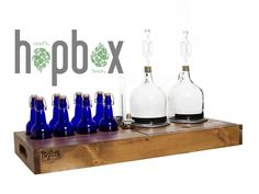 HopBox Handcrafted Brewing Kits by Michael Langone — Kickstarter.  Ever wanted to homebrew your own beer or cider? We designed a compact, snazzy way to craft your beer in style! Cheers!