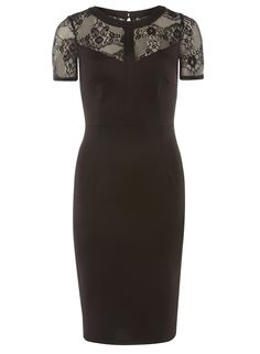 black lace pencil dress - View All New In - New In - Dorothy Perkins