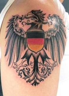 German Coat of Arms Tattoo                                                                                                                                                     More