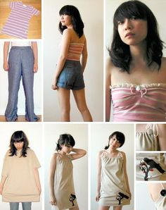 Custom Redress: 7  DIY Clothing Designs, Ideas