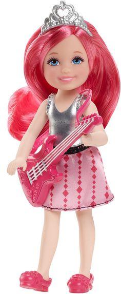 Mattel Barbie Small Doll - Rock 'N Royals Rock Princess - Red Hair (CKB69)  Manufacturer: Mattel Barcode: 887961109825 Enarxis Code: 017869 #toys #Mattel #Barbie #doll #rock