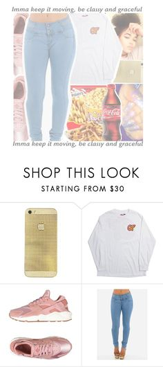 """""""⭕odd future contest⭕"""" by geazybxtch24 ❤ liked on Polyvore featuring NIKE"""