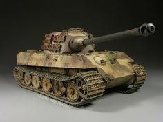 this is how I'd like to restore my vintage Tamiya King Tiger tank!!!