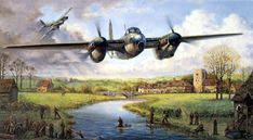 Fantastic painting of Mosquito aircraft. Unfortunately I have no other details. Air Force Aircraft, Ww2 Aircraft, Military Aircraft, De Havilland Mosquito, Airplane Art, Ww2 Planes, Royal Air Force, Aviation Art, Car Pictures