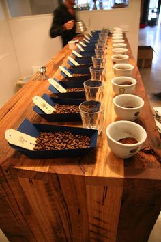 Market Lane Coffee cupping room