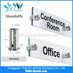 High Quality Standoffs For Acrylic Sign