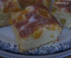 Bublanina s broskyňami (fotorecept) - Recept