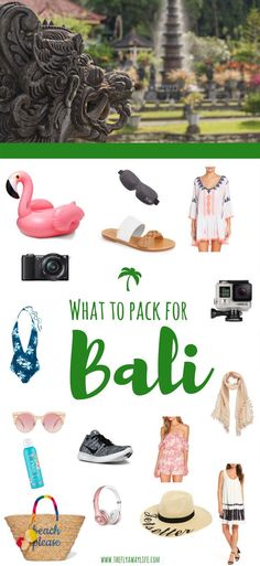 Wondering what to pack for Bali, Indonesia? This Bali packing list will help you decide what to wear in Bali & make sure you don't forget any essentials! // The Fly Away Life