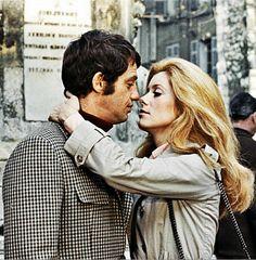 Jean-Paul Belmondo & Catherine Deneuve in La sirène du Mississipi (1969)