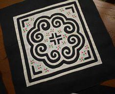 Handmade applique Hmong textile