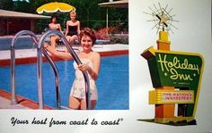 Jacksonville Holiday Inn Swimming Pool Pin Up Dig Those Suits 1965 FL Retro Advertising, Vintage Advertisements, Vintage Ads, Vintage Hotels, Vintage Travel, Jacksonville Florida, Travel Memories, My Scrapbook, Vintage Holiday