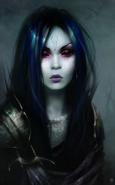 The Dark Pana is a dark force for good. She is the youngest sister of the Raven Queen.