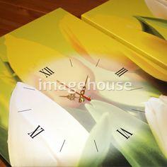Модульная картина с часами www.imagehouse-nn.ru