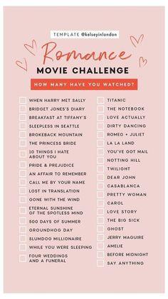 Romantic Movies On Netflix, Girly Movies, Netflix Movies To Watch, Romantic Movie Quotes, Good Movies On Netflix, Romantic Comedy Movies, Romance Movies, Disney Movies, Netflix Funny