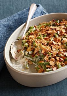 Untried Green Bean Casserole -- Made with panko bread crumbs, almonds ...