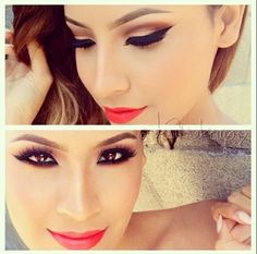 Outstanding, classy, proffesional, night makeup