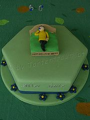 Geburtstagstorte für einen Tischler zum 60. Geburtstag www.tortenfiguren.at Nintendo Consoles, Cakes, 60 Birthday, Carpenter, Birthday Cake Toppers, Ideas, Scan Bran Cake, Kuchen, Pastries