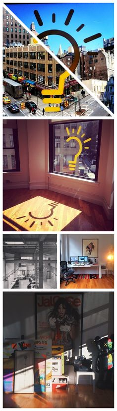As part of our story on the offices of leading creative minds, we had our followers submit images of their own creative spaces. Pictured here are some of the great features of @Team Epiphany's Manhattan based office. From the great views and open space to art by KAWS, even we're feeling a bit jealous. To see your own creative space featured, tag us @Fast Company and use #mycreativespace.