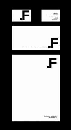 Minimal branding - FASHION by Alice De Marco, via Behance