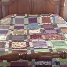 My quilt all put together <3