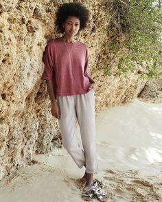 Poetry Fashion - Relaxed cropped trousers www.poetryfashion.co.uk