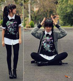 T Shirt, Target Knit, Shirt, Leggings, Shoes, Head Scarf