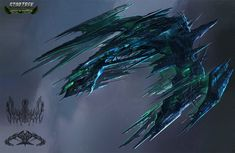 I found a bunch of concept artwork for Star Trek Online, this is concept art for Hakeev's ship. I haven't seen a ship like this, and don't know if. Space Ship Concept Art, Alien Concept Art, Star Wars Concept Art, Concept Ships, Star Wars Art, Star Trek Online, Spaceship Art, Spaceship Design, Star Trek Borg