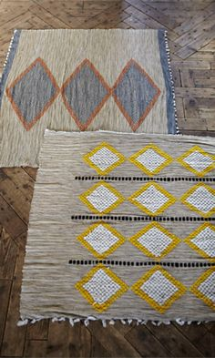 made from woven halfa grasses, intricately embroidered and highlighted with colourful wool designs