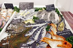 So here are some images from last week as my fish counter installation finally opened at Alexander palace. The counter was greatly admired w...