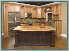 distressed kitchen cabinets | Pictures Of Distressed Black Kitchen Cabinets