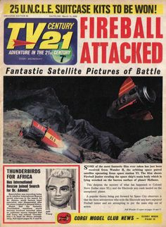 Classic Sci Fi, Classic Comics, Thunderbirds Are Go, Sci Fi Tv, Space Race, Book Posters, Kids Growing Up, Pulp Fiction, Science Fiction