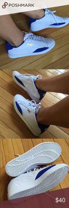 Puma sneakers Fresh! New! Never worn Puma sneakers - too small for me ✨ Puma Shoes Sneakers
