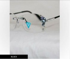 305eb249797b SWAROVSKI CRYSTALS Wm Wang Reading Glasses Nose Bar Readers NEW Eyes  Eyewear  WilliamWang
