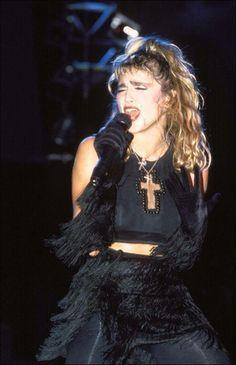 Madonna pure 80's style!  #madonna #madonna80's