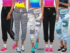 3 Designs and 16 colors  Found in TSR Category 'Sims 4 Female Everyday'