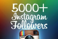 Get instant #instagram #followers at affordable price.