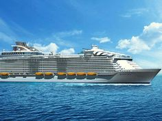 New Royal Caribbean cruise ship will be world's largest