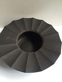 Vintage NAMBU Japanese Cast Iron Tabletop Hibachi Tempura Frying Pot Signed