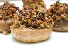 Italian Sausage Stuffed Mushrooms | Sugar & Spice by Celeste: Sausage-Stuffed Mushrooms