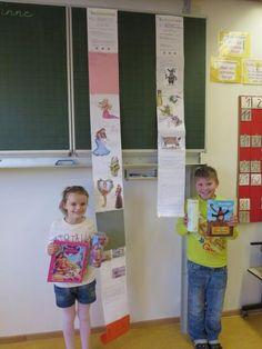 Grundschule Chamerau - Leserollen der Klasse 3 - Buchvorstellung einmal anders